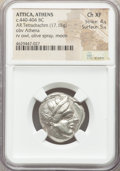 Ancients:Greek, Ancients: ATTICA. Athens. Ca. 440-404 BC. AR tetradrachm (23mm,17.15 gm, 7h). NGC Choice XF 4/5 - 5/5....