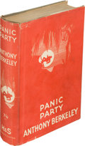 Books:Mystery & Detective Fiction, Anthony Berkeley. Panic Party. London: Hodder and Stoughton, 1934. First edition....