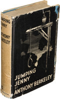 Books:Mystery & Detective Fiction, Anthony Berkeley. Jumping Jenny. London: Hodder andStoughton, 1933. First edition....