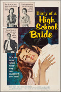 """Movie Posters:Exploitation, Diary of a High School Bride & Other Lot (AmericanInternational, 1959) Folded, Very Fine-. One Sheets (2) (27"""" X41""""). Expl... (Total: 2 Items)"""