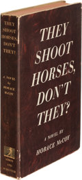 Books:Mystery & Detective Fiction, Horace McCoy. They Shoot Horses, Don't They? New York: Simon and Schuster, 1935. First edition, association copy, ...
