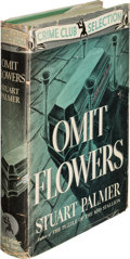 Books:Mystery & Detective Fiction, Stuart Palmer. Pair of Crime Club Mysteries. Garden City: [1937-1941]. First editions, one a Hildegarde Withers novel; typed... (Total: 2 Items)