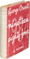 Books:Science Fiction & Fantasy, George Orwell. Nineteen Eighty-Four. London: 1949. First edition....