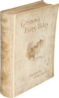 Books:Children's Books, [Arthur Rackham, illustrator]. [Jakob Grimm and Wilhelm Grimm]. Fairy Tales of the Brothers Grimm. London: 1909. Fir...
