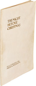 Books:Children's Books, [Arthur Rackham, illustrator]. Clement C. Moore. The Night Before Christmas. Philadelphia: [1931]. First edition, U....