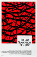"Movie Posters:Drama, The Last Temptation of Christ (Universal, 1988) Rolled, Very Fine-. One Sheet (27"" X 41"") DS. Drama...."