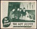 "Movie Posters:Comedy, The Hot Scots (Columbia, 1948) Fine. Lobby Card (11"" X 14""). Comedy...."