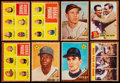 Baseball Cards:Lots, 1962 Topps Baseball Collection (45)....