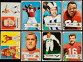Football Cards:Lots, 1954 Bowman and 1957 Topps Football Collection (105)....
