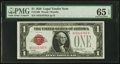 Small Size:Legal Tender Notes, Fr. 1500 $1 1928 Legal Tender Note. PMG Gem Uncirculated 65 EPQ.....