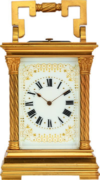 French, Fine Striking & Repeating Carriage Clock, circa 1890