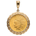 Estate Jewelry:Pendants and Lockets, US Gold Coin, Gold Pendant . ...