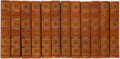 Books:Fine Bindings & Library Sets, Arthur Conan Doyle. The Works of... New York: [1902]. Author's Haslemere Edition.. ... (Total: 12 Items)