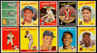 1958-59 Topps Baseball Collection (987) With Stars & HoFers