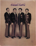 Music Memorabilia:Memorabilia, Four Tops Promotional Stand-Up Display (circa early 1970s).Rare....