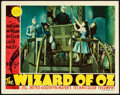 "Movie Posters:Fantasy, The Wizard of Oz (MGM, 1939). Fine-. Lobby Card (11"" X 14"").. ..."