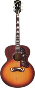 Musical Instruments:Acoustic Guitars, 1969 Gibson J-200 Sunburst Acoustic Guitar, Serial # 561291....