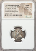 Ancients:Oriental, Ancients: PARTHIAN KINGDOM. Mithradates II (ca. 121-91 BC). AR drachm (23mm, 4.11 gm, 12h). NGC XF★ 5/5 - 4/5....