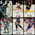 Hockey Cards:Lots, 1976 Topps Glossy And 1988 Esso NHL Hockey Card Collection (118). ...