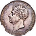 Great Britain, Great Britain: George IV Proof Crown 1826 PR62 NGC,...