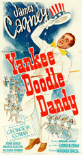 "Movie Posters:Musical, Yankee Doodle Dandy (Warner Brothers, 1942). Very Fine on Linen.Three Sheet (41"" X 78.75"").. ..."