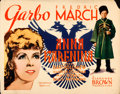 "Movie Posters:Drama, Anna Karenina (MGM, 1935). Fine/Very Fine. Half Sheet (22"" X 28"").. ..."