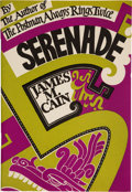Books:Mystery & Detective Fiction, James M. Cain. Serenade. New York: 1937. Publisher's prospectus or salesman dummy....