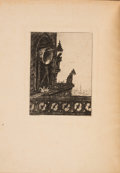 Books:Horror & Supernatural, Edgar [Allan] Poe. Les Cloches. [The Bells]. Paris:[1876]. First Guérard edition, one of 100 copies on Holland;...