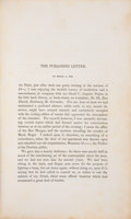 "Books:Mystery & Detective Fiction, Edgar Allan Poe. ""The Purloined Letter"" [appearing in:] The Gift. Philadelphia: 1845 [actually 1844]. First edition...."