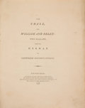 Books:Literature Pre-1900, [Sir Walter Scott, translator]. Gottfried Augustus Bürger. The Chase and William and Helen. Edinburgh: 1796. First e...
