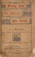 Books:Horror & Supernatural, Robert Louis Stevenson. Strange Case of Dr. Jekyll and Mr.Hyde. London: 1886. First English edition, wrapper issue....