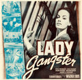 Movie Posters:Crime, Lady Gangster (Warner Brothers, 1942). Very Fine- on Linen...