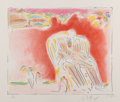 Fine Art - Work on Paper:Print, Peter Max (b. 1937). The Garden, 1980. Lithograph in colors on paper. 21-1/2 x 25 inches (54.6 x 63.5 cm) (sheet). Ed. 8...