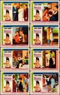 """Movie Posters:Romance, Breakfast at Tiffany's (Paramount, 1961). Fine/Very Fine. Lobby Card Set of 8 (11"""" X 14""""). Robert McGinnis Artwork.. ... (Total: 8 Items)"""
