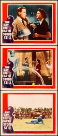 """Movie Posters:Science Fiction, The Day the Earth Stood Still (20th Century Fox, 1951). Very Fine. Lobby Cards (3) (11"""" X 14"""").. ... (Total: 3 Items)"""