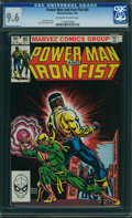 Modern Age (1980-Present):Superhero, Power Man and Iron Fist #95 (Marvel, 1983) CGC NM+ 9.6 OFF-WHITE TO WHITE pages.