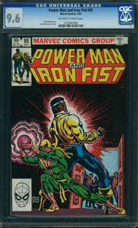 Power Man and Iron Fist #95 (Marvel, 1983) CGC NM+ 9.6 OFF-WHITE TO WHITE pages