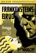 Movie Posters:Horror, The Bride of Frankenstein (Universal, 1935). Very Fine- on...