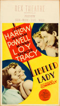 "Movie Posters:Comedy, Libeled Lady (MGM, 1936). Very Fine-. Midget Window Card (8"" X14"").. ..."