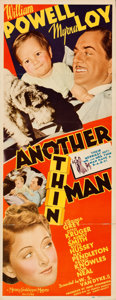 "Movie Posters:Mystery, Another Thin Man (MGM, 1939). Folded, Fine/Very Fine. Insert (14"" X 36"").. ..."