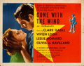 "Movie Posters:Academy Award Winners, Gone with the Wind (MGM, R-1947). Folded, Fine+. Half Sheet (22"" X 28"") Style A.. ..."