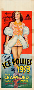 "Movie Posters:Musical, The Ice Follies of 1939 (MGM, 1939). Folded, Fine+. AustralianPre-War Daybill (15"" X 40""). Musical.. ..."