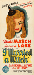 Movie Posters:Fantasy, I Married a Witch (United Artists, 1942). Folded, Very Fin...