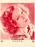 """Movie Posters:Drama, Greta Garbo (MGM, c. 1929). Fine/Very Fine on Linen. FrenchPersonality Poster (22"""" X 29.5"""").. ..."""