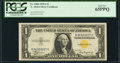 Small Size:World War II Emergency Notes, Fr. 2306 $1 1935A North Africa Silver Certificate. PCGS Gem New 65PPQ.. ...