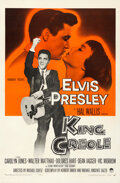 "King Creole (Paramount, 1958). Very Fine- on Linen. One Sheet (27"" X 41""). Elvis Presley"