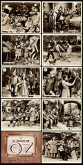 """Movie Posters:Fantasy, The Wizard of Oz (MGM, 1945). Very Fine/Near Mint. Spanish TitleLobby Card & Spanish Lobby Cards (12) (7.75"""" X 9.75"""").. ...(Total: 13 Items)"""