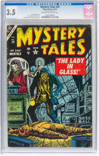 Mystery Tales #24 (Atlas, 1954) CGC VG- 3.5 Cream to off-white pages