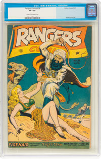 Rangers Comics #36 (Fiction House, 1947) CGC VF 8.0 Cream to off-white pages