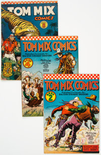 Tom Mix Comics Group of 5 (Ralston-Purina Co., 1940s) Condition: Average VG.... (Total: 5 Comic Books)